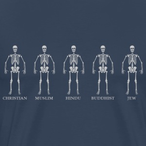 Religion skeleton T-Shirts - Men's Premium T-Shirt