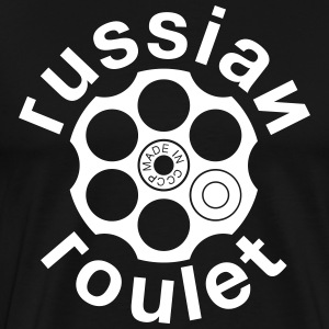 Russian Roulette Tee shirts - T-shirt Premium Homme