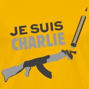 Je suis Charlie Tee shirts - T-shirt Premium Homme
