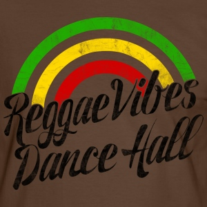 reggae vibes dance hall Tee shirts - T-shirt contraste Homme