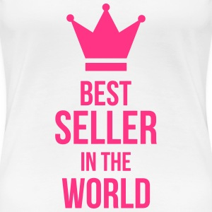 Best Seller in the World T-shirts - Vrouwen Premium T-shirt