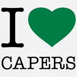 I LOVE CAPERS  Aprons - Cooking Apron
