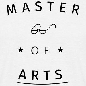 Master of Arts T-shirts - Mannen T-shirt