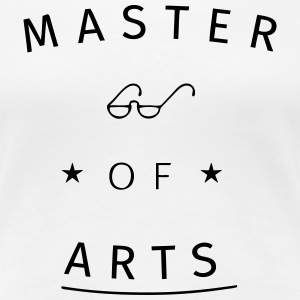 Master of Arts T-Shirts - Women's Premium T-Shirt