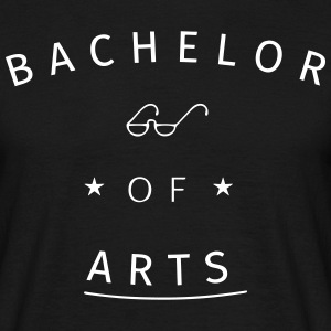 Bachelor of Arts T-Shirts - Männer T-Shirt