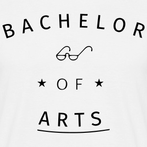 Bachelor of Arts Tee shirts - T-shirt Homme