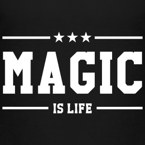 Magic is life Shirts - Kinderen Premium T-shirt