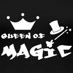 Queen of Magic  T-shirts - Vrouwen Premium T-shirt