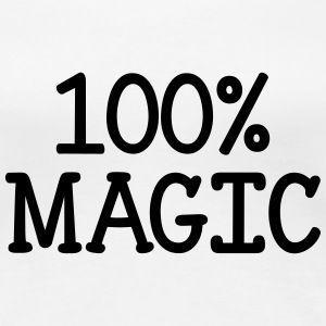 100% Magic  T-shirts - Vrouwen Premium T-shirt
