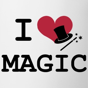 I Love Magic  Mugs & Drinkware - Mug