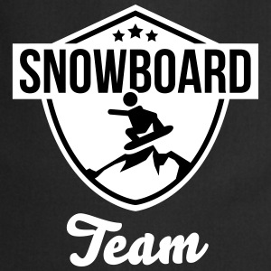 Snowboard team badge Tabliers - Tablier de cuisine