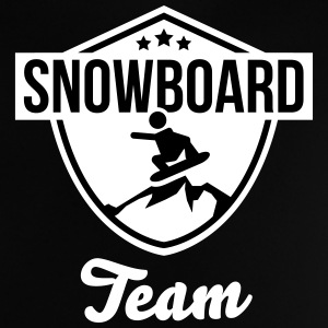 Snowboard team badge Tee shirts - T-shirt Bébé