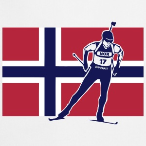 Biathlon - cross country skiing  - Norway Tabliers - Tablier de cuisine
