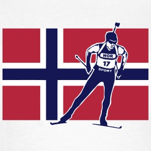 Biathlon - cross country skiing - skiing - skiay T-Shirts - Women's T-Shirt