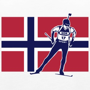 Biathlon - Langlauf - Norwegen - Norway Tops - Frauen Premium Tank Top