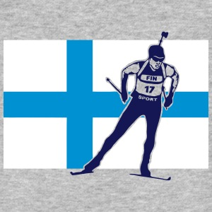 Biathlon - cross country skiing - skiing - ski T-Shirts - Men's Organic T-shirt