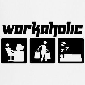 Workaholic (Vektor) - Cooking Apron