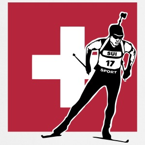 Biathlon - cross country skiing  - switzerland Tabliers - Tablier de cuisine