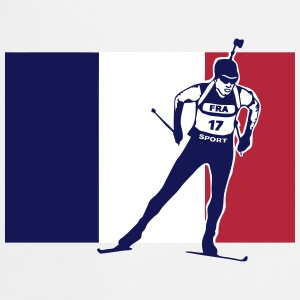 Biathlon - cross country skiing  - France Tabliers - Tablier de cuisine