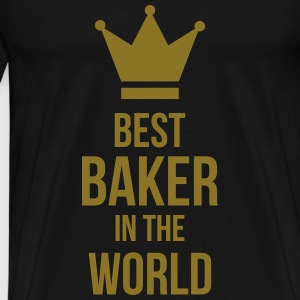 Best Baker in the World T-skjorter - Premium T-skjorte for menn