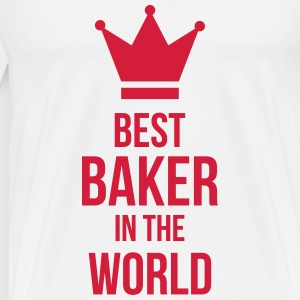 Best Baker in the World T-shirts - Mannen Premium T-shirt