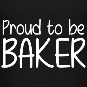 Proud to be Baker Skjorter - Premium T-skjorte for tenåringer