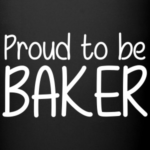 Proud to be Baker Mugs & Drinkware - Full Colour Mug