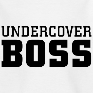 Undercover Boss Skjorter - T-skjorte for barn