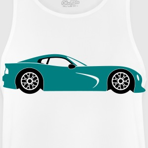 Coche deportivo Ropa deportiva - Camiseta sin mangas hombre transpirable