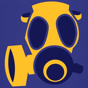 deadly orange biohazard gas mask Shirts - Kids' Premium T-Shirt