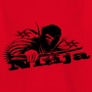 Ninja fighter with sword Shirts - Teenage T-shirt