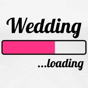 Wedding ...loading Tee shirts - T-shirt Premium Femme