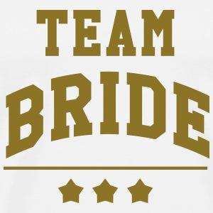 Team Bride - Wedding T-Shirts - Men's Premium T-Shirt