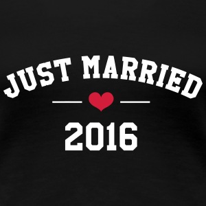 Just Married 2016 -  Wedding T-Shirts - Women's Premium T-Shirt
