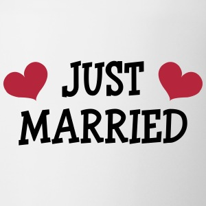Just Married - Wedding Mugs & Drinkware - Mug
