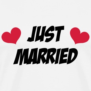 Just Married - Wedding Tee shirts - T-shirt Premium Homme