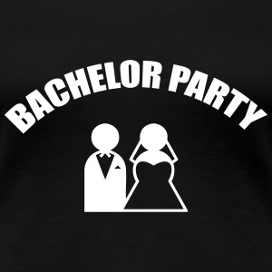 Bachelor Party - Wedding T-shirts - Dame premium T-shirt