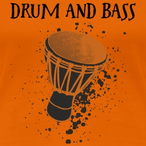 Djembe Player must have Shirt Tee shirts - T-shirt Premium Femme