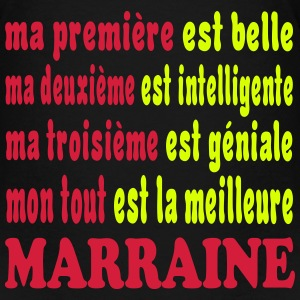 LA MEILLEURE MARRAINE 111 T-Shirts - Teenager Premium T-Shirt