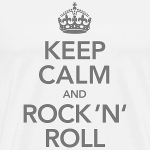 Keep Calm And Rock 'N' Roll T-Shirts - Männer Premium T-Shirt