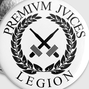PREMIUM JUICES LEGION - Badge grand 56 mm