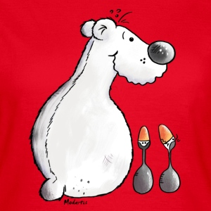 Cute Polar Bear T-Shirts - Women's T-Shirt