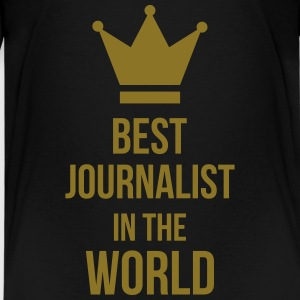 Best Journalist in the world Skjorter - Premium T-skjorte for tenåringer