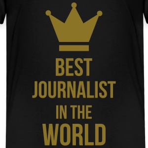 Best Journalist in the world Shirts - Kinderen Premium T-shirt