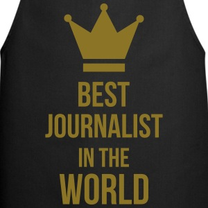 Best Journalist in the world Grembiuli - Grembiule da cucina