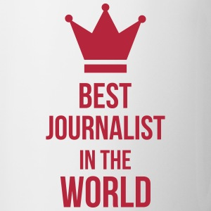 Best Journalist in the world Mugs & Drinkware - Mug