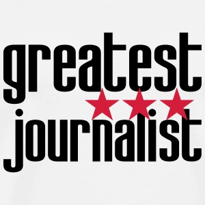 Greatest Journalist T-shirts - Premium-T-shirt herr