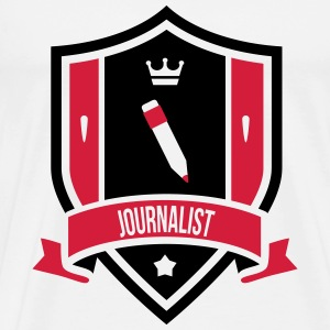 Journalist T-shirts - Herre premium T-shirt