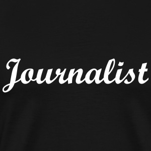 Journalist T-shirts - Mannen Premium T-shirt