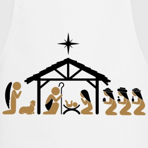 Nativity on Christmas Eve  Aprons - Cooking Apron